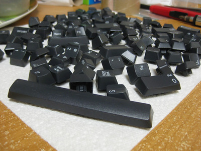 keyboard explosion!